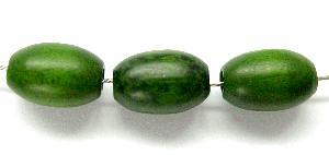 Best.Nr.:66046 Holzperle Oliven grün, hergestellt in Smržovka / Tschechien