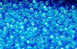 Best.Nr.:09016 Rocailles türkisblau /schimmernd (lüster)