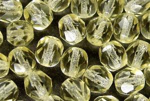 Best.Nr.:27055 facettierte Glasperlen champagner