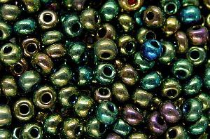 Best.Nr.:07005 Rocailles von Preciosa Ornella Tschechien hergestellt,  metallic
