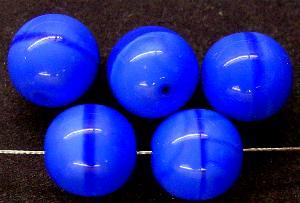 Best.Nr.:22477 Glasperlen perlettglas blau