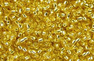 Best.Nr.:15009 Rocailles von Ornella Preciosa Tschechien mit Silbereinzug