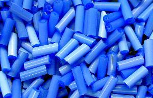 Best.Nr.:21045 Schtiftperlen hergestellt von Preciosa Ornella Tschechien, Satinglas blau