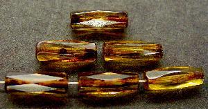 Best.Nr.:27484 geschliffene Glasperlen mit picasso finish