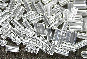 Best.Nr.:21115 Stiftperlen von Ornella Preciosa Tschechien hergestellt, kristall mit lüster