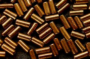 Best.Nr.:21019 Stiftperlen bronzefarben, hergestellt von Ornella Preciosa
