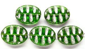 Best.Nr.:59108 Antikstyle Glasperlen, nach alten Vorlagen aus den 1930/40 Jahren neu gefertigt mit Silberauflage