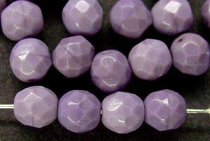 Best.Nr.:26353 facettierte Glasperlen violett verschieden Farbtöne