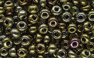 Best.Nr.:07046 Rocailles von Preciosa Ornella Tschechien hergestellt,  metallic
