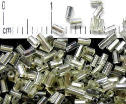 Best.Nr.:63085 Glasperlen in den 1920/30 Jahren in Gablonz/Böhmen hergestellt mit Silbereinzug