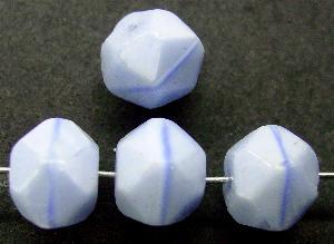 Best.Nr.:63344 Glasperlen in den 1920/30 Jahren in Gablonz/Böhmen hergestellt hellblau