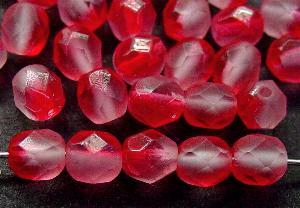 Best.Nr.:27441 Glasperlen facettiert mattiert (frostet)