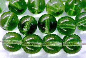 Best.Nr.:22489 Glasperlen russisch grün