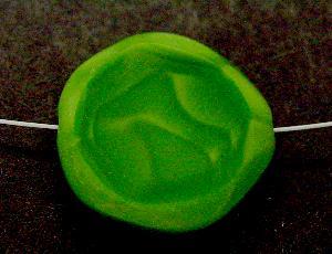 Best.Nr.:67808 Glasperlen / Table Cut Beads geschliffen Rand mattiert (frostet)