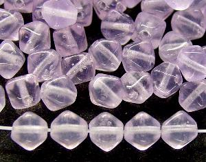 Best.Nr.:54088 Glasperlen Doppelpyramide vierkantig