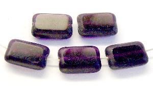 Best.Nr.:67841 Glasperlen / Table Cut Beads geschliffen violett