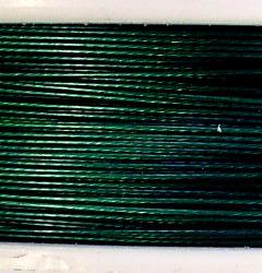 Best.Nr.:36040 Edelstahldraht  nylonummantelt, smaragdgrün