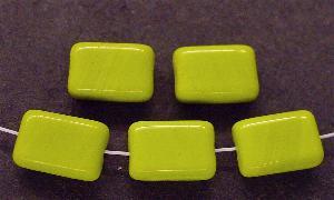 Best.Nr.:41021 Glasperlen Rechtecke oliv