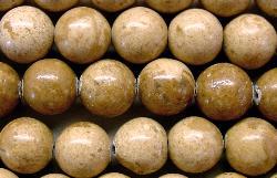 Best.Nr.:65-4931  Halbedelsteinperlen  aus Desert Jasper (Jaspis)