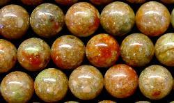 Best.Nr.:65-4940 Halbedelsteinperlen  aus Epidot