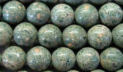 Best.Nr.:65-4962/6  Halbedelsteinperlen  aus Zoisite Jasper (Jaspis)