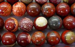Best.Nr.:65-4964/6  Halbedelsteinperlen  aus Rainbow Fancy Jasper (Jaspis)