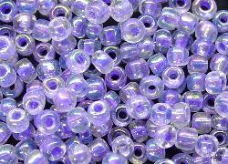 Best.Nr.:10017  Rocailles hell blauviolett /schillernd (irisierend)