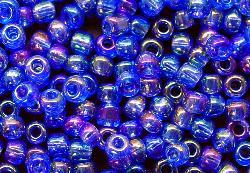 Best.Nr.:10015 Rocailles blau /schillernd (irisierend)