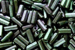 Best.Nr.:21043 Schtiftperlen hergestellt von Preciosa Ornella Tschechien, metallic mattiert