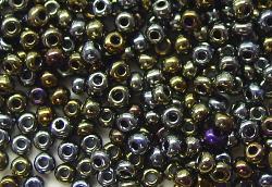 Best.Nr.:07053  Rocailles aus Gablonz / Böhmen  metallic