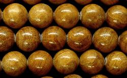 Best.Nr.:65-5485  Halbedelsteinperlen  aus Gold Line Jasper (Jaspis)