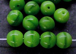 Best.Nr.:22222 Glasperlen grün