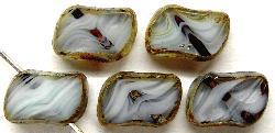 Best.Nr.:67025 Glasperlen / Table Cut Beads  geschliffen