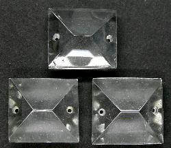 Best.Nr.:60-5943 geschliffener kristall Lüstersteine um 1960 in Gablonz/Böhmen hergestellt