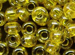 Best.Nr.:09005 Rocailles von Ornella Preciosa Tschechien,  gelb /schimmernd (lüster)