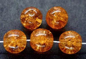 Best.Nr.:22260 Glasperlen / crash beads topas