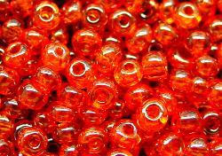 Best.Nr.:09026 Rocailles   orange /schimmernd (lüster)