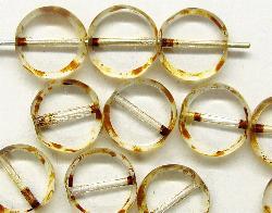 Best.Nr.:67054 Glasperlen / Table Cut Beads  geschliffen