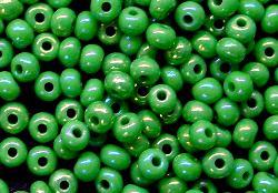 Best.Nr.:02009 Rocailles von Ornella Preciosa Tschechien,  grün irisierend