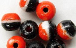 Best.Nr.:63128  Glasperlen (Prosserbeads) aus Gablonz/Böhmen um 1920 hergestellt  Trade Beads für den Afrikahandel