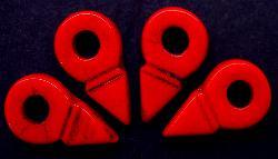 Best.Nr.:63144  Glasperlen aus Gablonz/Böhmen 1920/30 hergestellt  Trade Beads (Talhakimt) für den Afrikahandel, vor allem mit den Tuareg