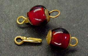Best.Nr.:39033 Kettenverschluß mit Glasperle Gablonz/Böhmen ca.1930 hergestellt