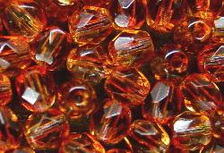 Best.Nr.:24111  facettierte Glasperlen  Zweifarbenglas