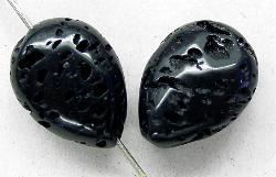Best.Nr.:65-5622 Steinperlen  aus Black Lava