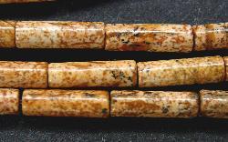 Best.Nr.:65-5639  Halbedelsteinperlen  aus Picture Jasper