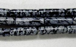 Best.Nr.:65-5641  Halbedelsteinperlen  aus Snowflake Obsidian