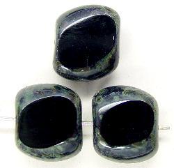 Best.Nr.:67144  Glasperlen / Table Cut Beads  geschliffen  mit picasso finish