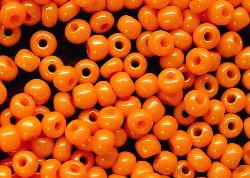 Best.Nr.:04002 Rocailles von Ornella Preciosa Tschechien,  orange