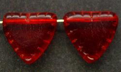 Best.Nr.:63191 Glasperlen in den 1920/30 Jahren in Gablonz/Böhmen hergestellt rot