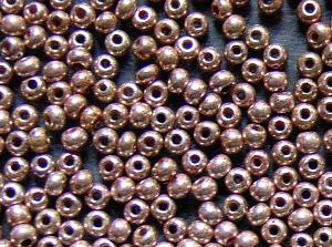 Best.Nr.:61161 Rocailles um 1920 in Gablonz/Böhmen hergestellt, metallic